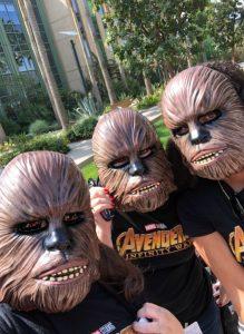 Chewbacca Mask Roar for Change