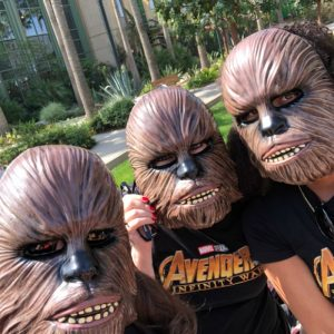 Chewbacca Mask Roar for Change