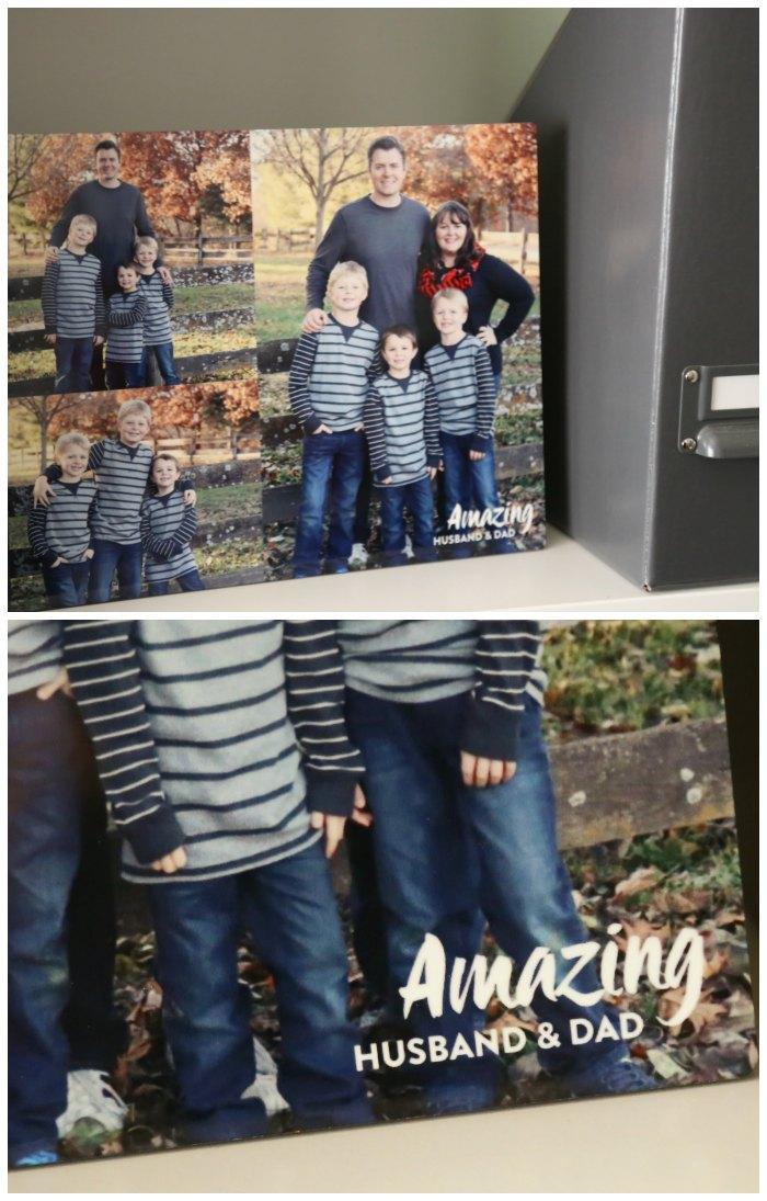 Custom Father's Day Photo Panel