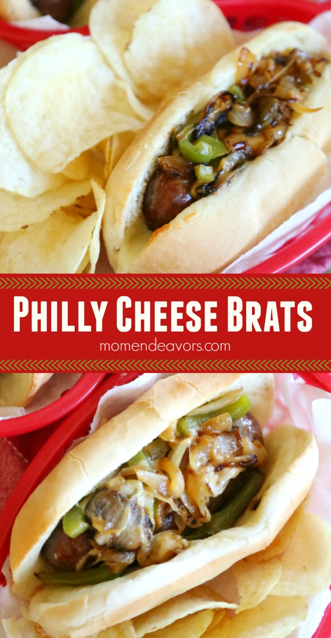 Philly Cheese Brats Recipe