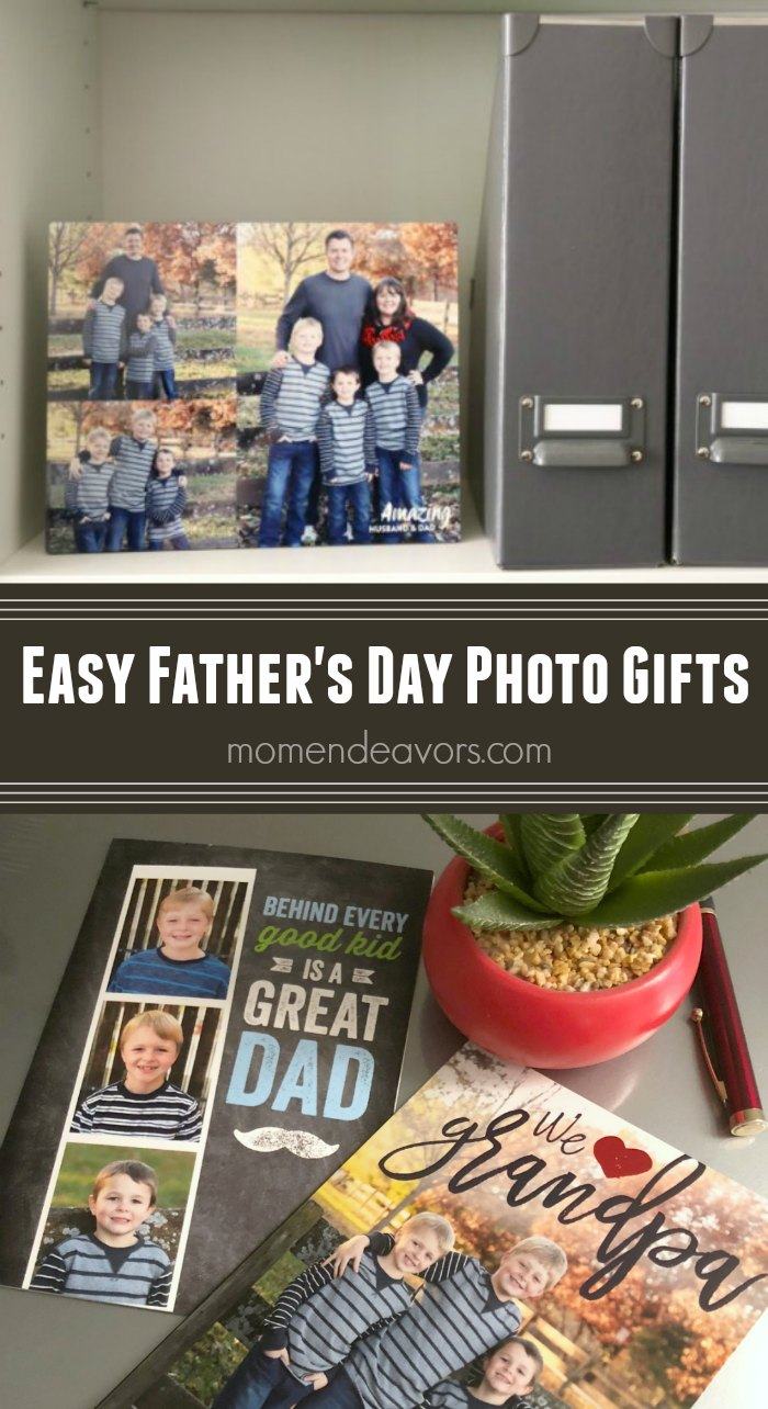 Easy Father's Day Photo Gift Ideas