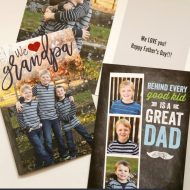 Easy Father's Day Photo Gifts