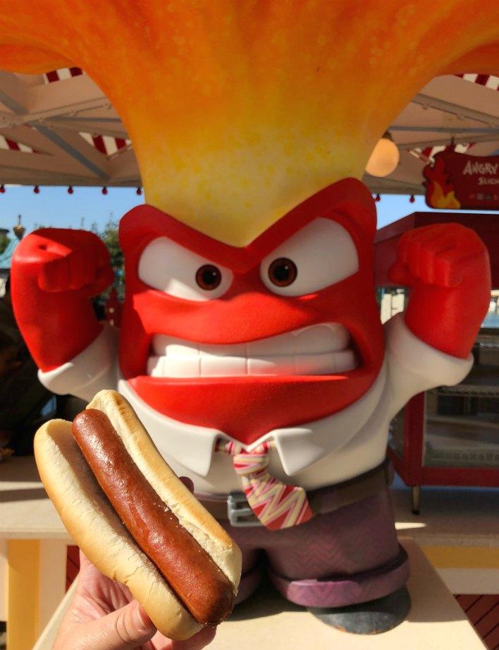 Angry Dog Hot Dog