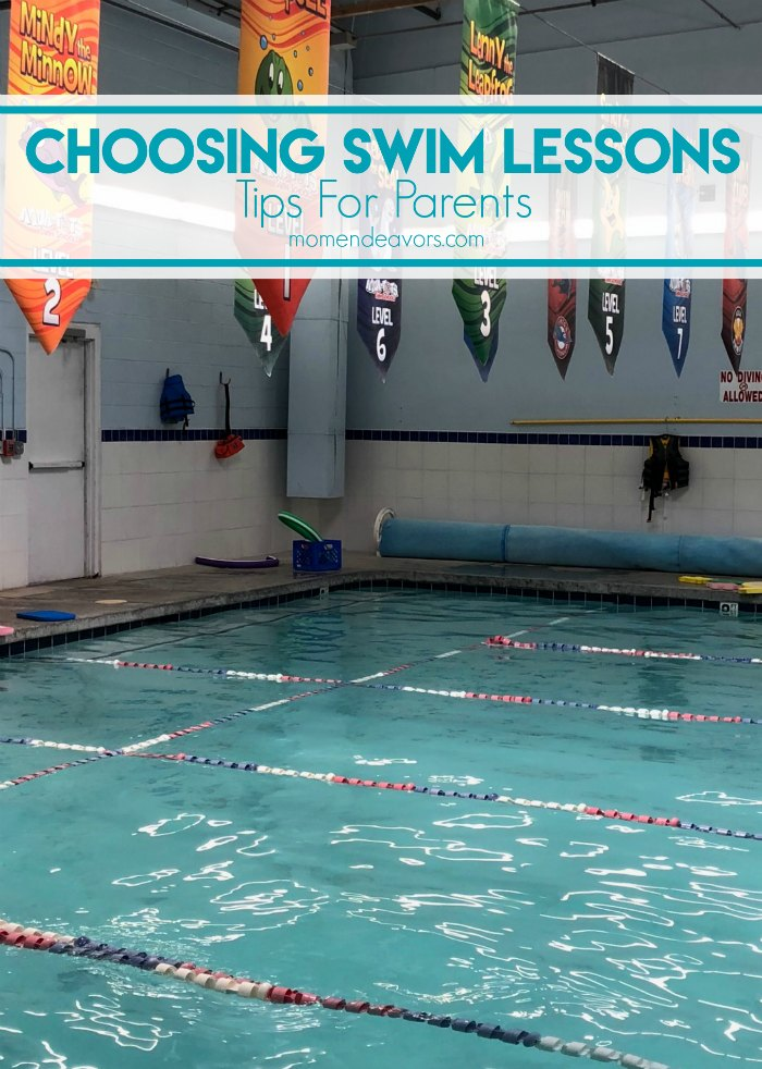 Choosing Swim Lessons Tips For Parents