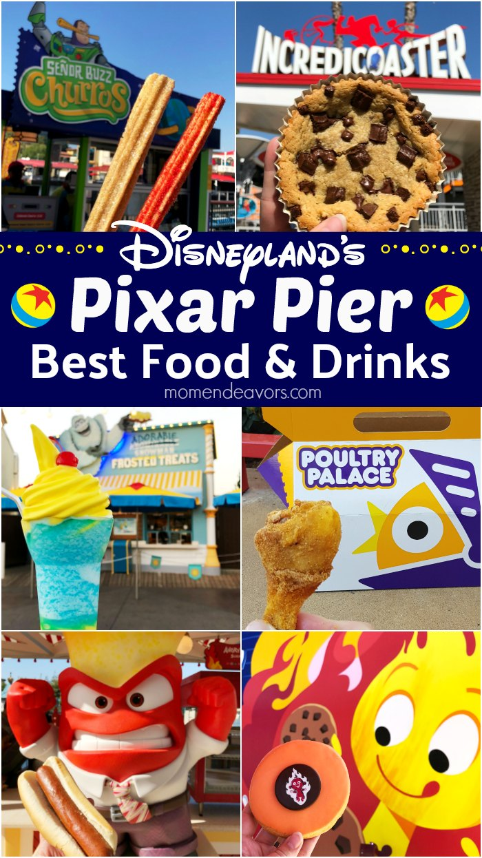 Disneyland Pixar Pier Best Food