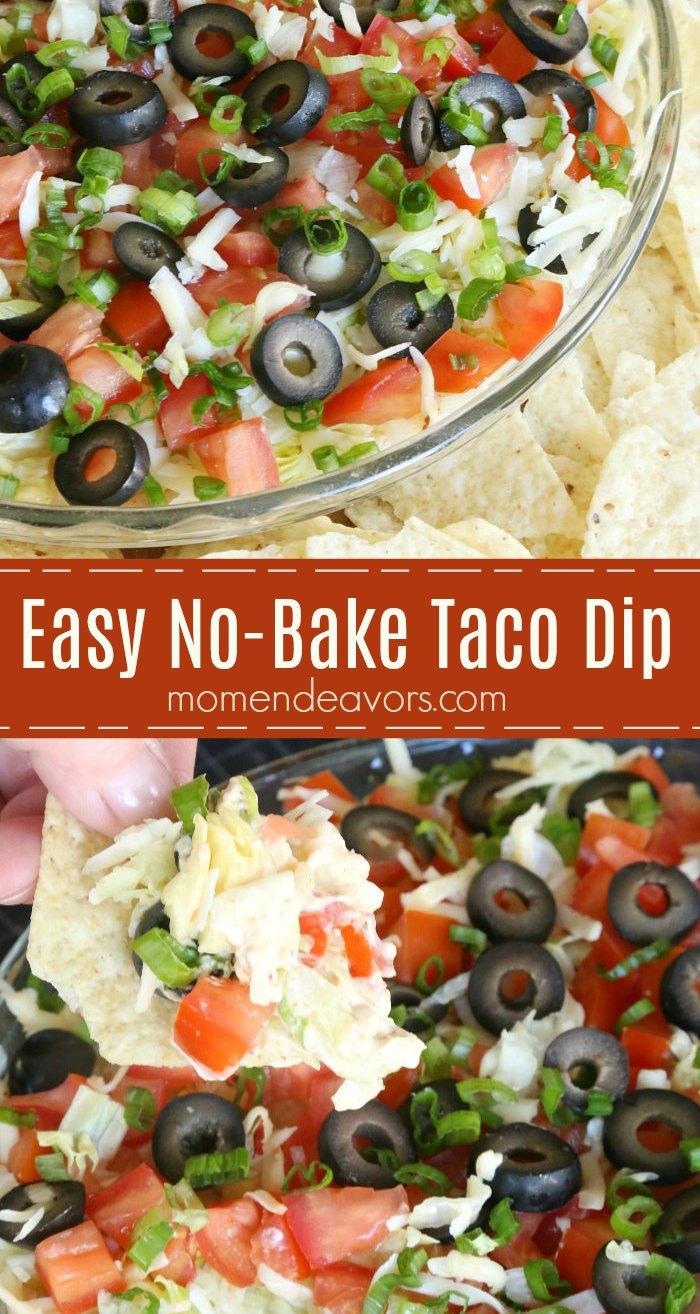 Easy Creamy Taco Dip