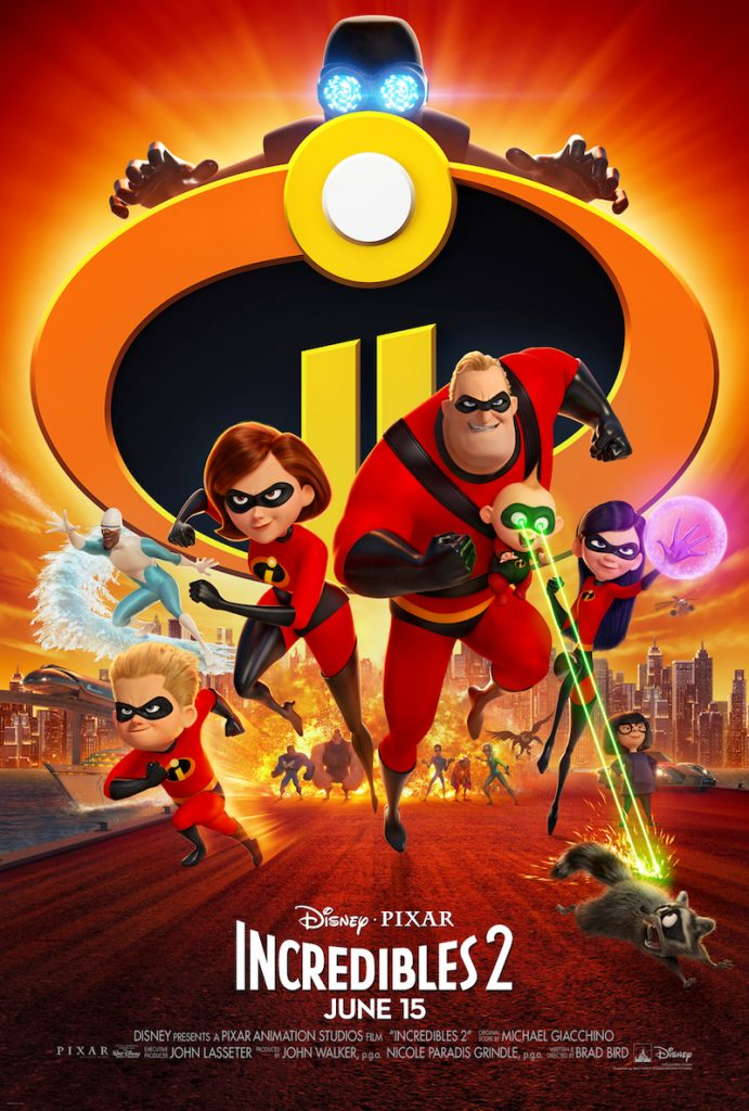DisneyPixar Incredibles 2 Printable