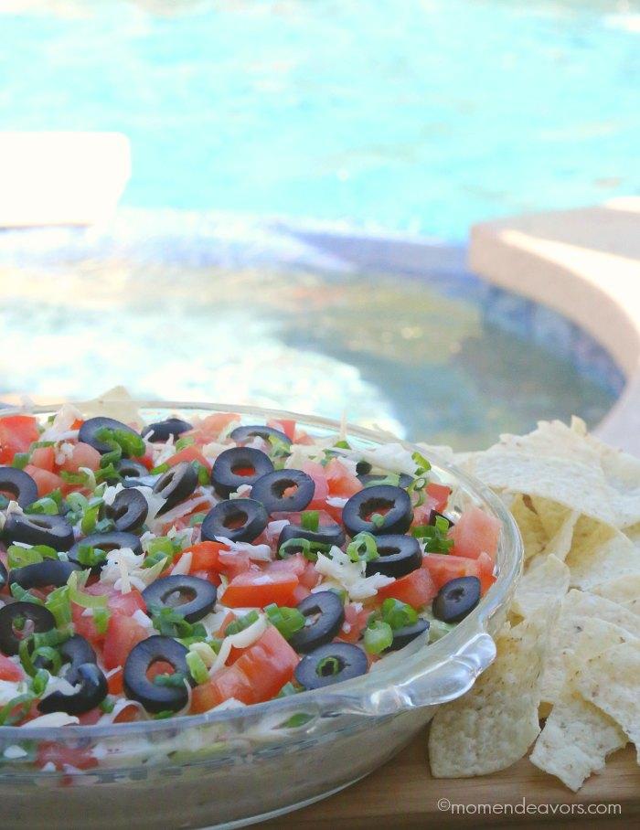 Poolside Appetizers