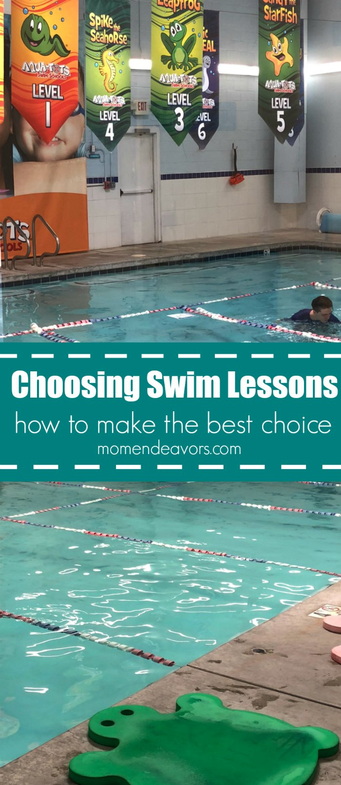 How to Choose the Right Swimming Lessons