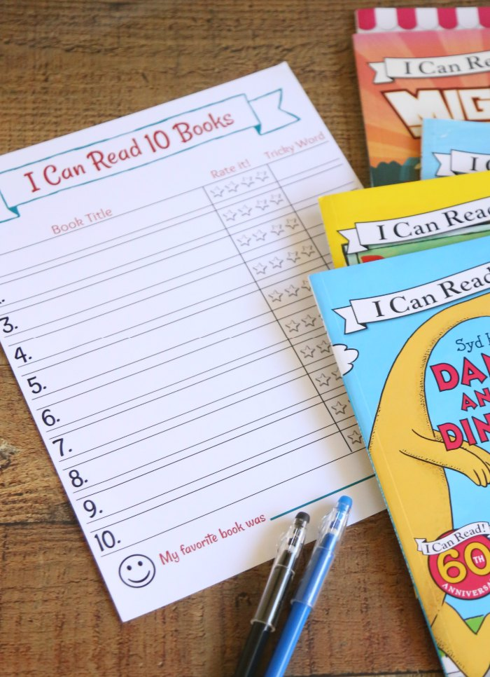 Beginning Reading Log