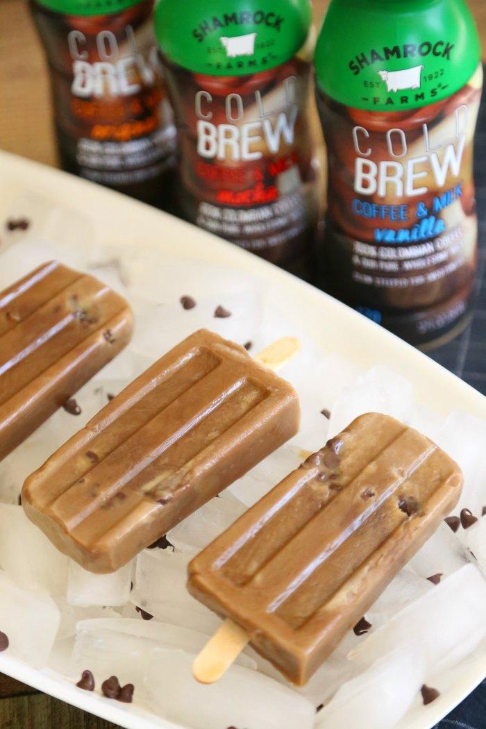 Caramel Mocha Frozen Pops