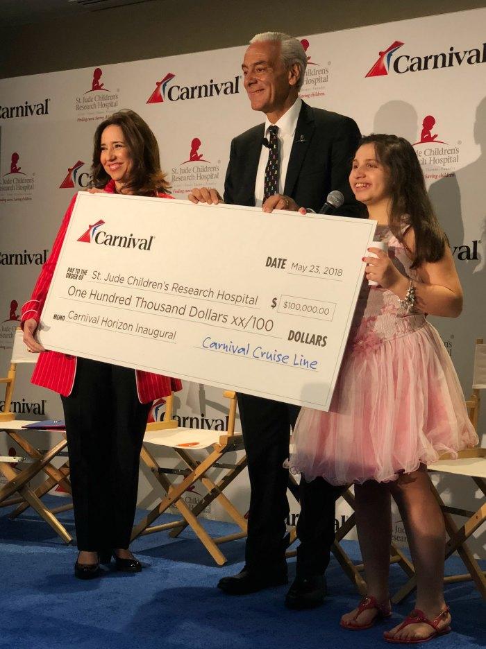 Carnival St. Jude Hospital Donation