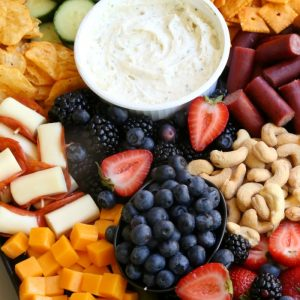 Easy Summer Cheese Board