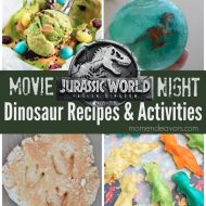 Jurassic World: Fallen Kingdom DVD Dinosaur Recipes & Activities
