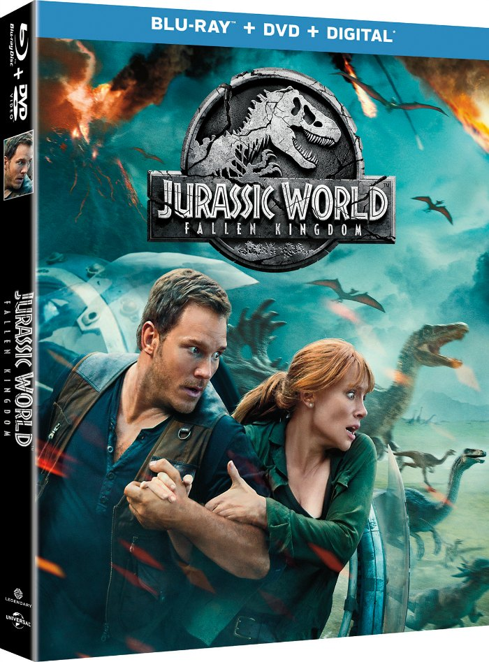 Jurassic World Fallen Kingdom DVD