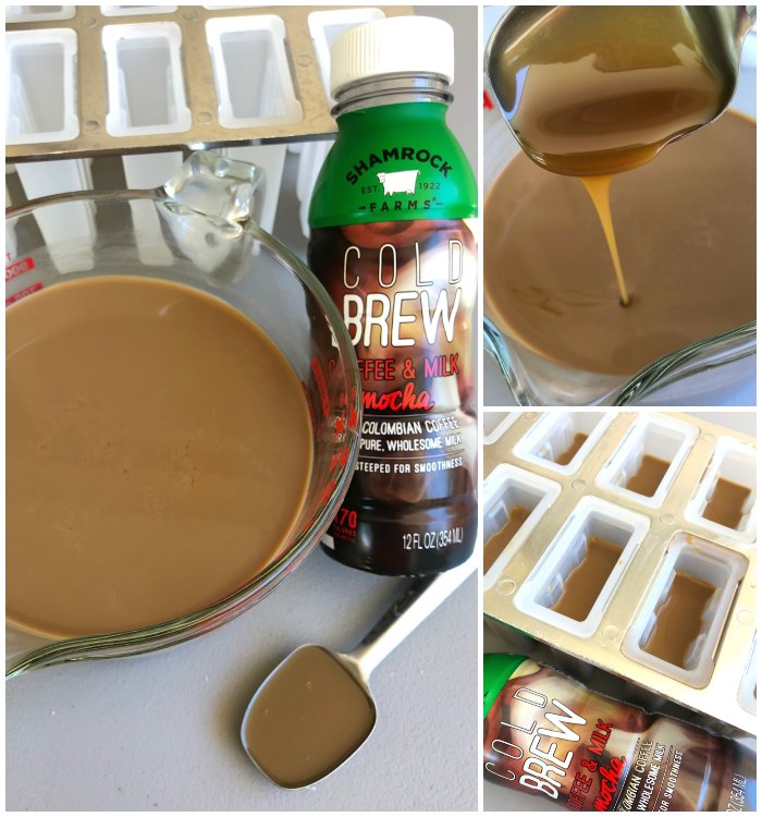 Making Coffee Popsicles