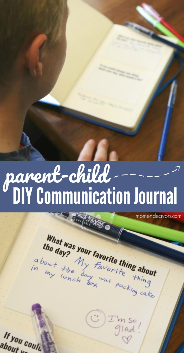 Parent-Child Communication Journal with Prompts