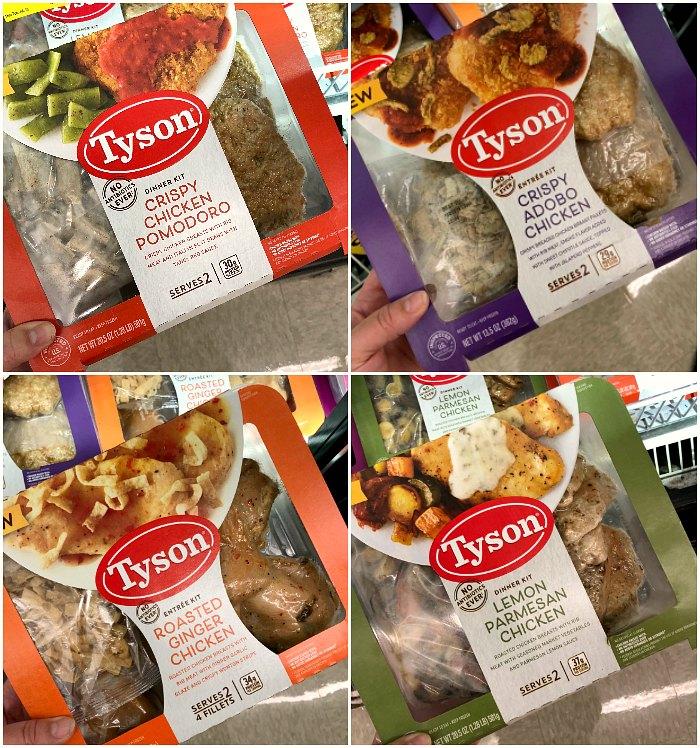 Tyson Dinner Kits
