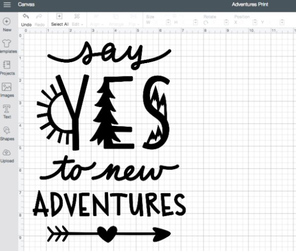 Adventures Cricut Design