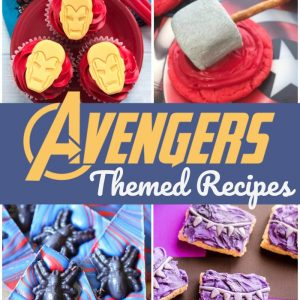 Avengers Party Recipes