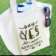 DIY Travel Tote Bag with Cricut EasyPress 2