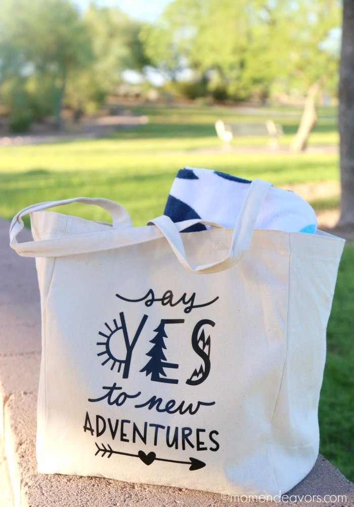 DIY Travel Tote Bag