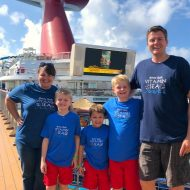 DIY Family Cruise Shirts with Cricut Maker
