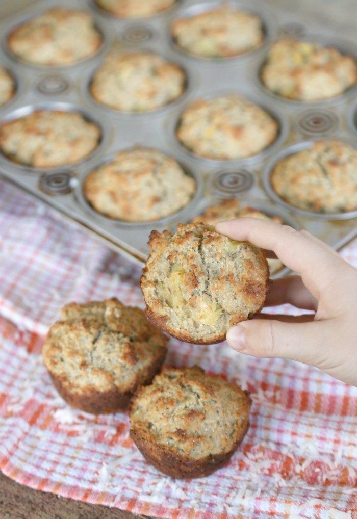Tropical Oatmeal Muffins