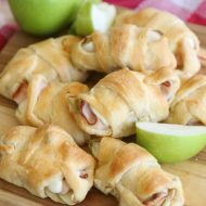 Turkey, Apple, & Cheese Crescents