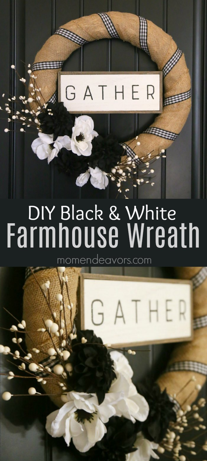 DIY Farmhouse Wreath