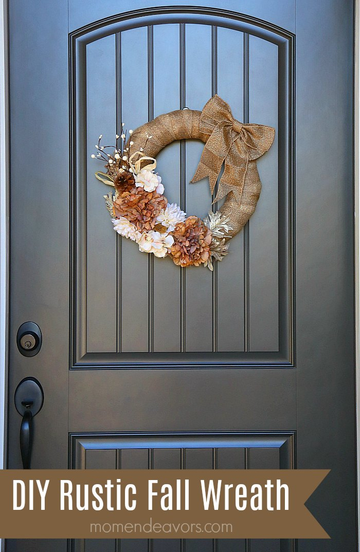 DIY Rustic Fall Wreath