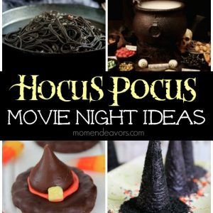 Hocus Pocus Movie Night Ideas