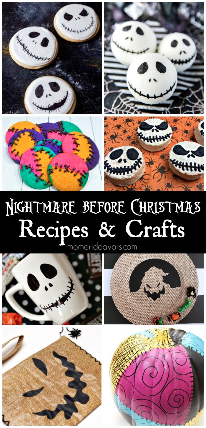 Disney\'s The Nightmare Before Christmas Recipes & Crafts