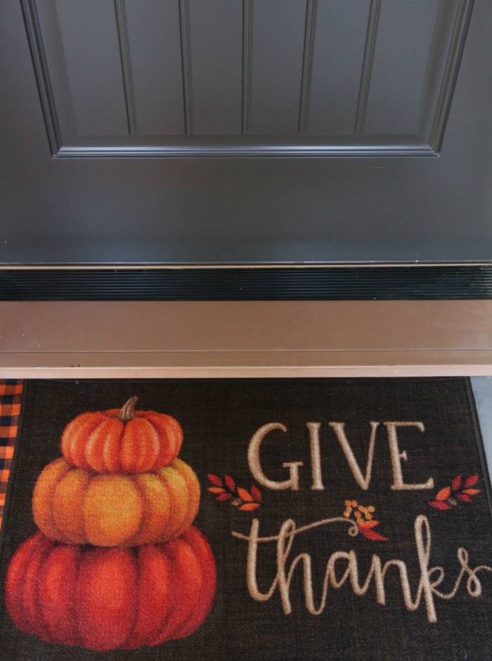 Thanksgiving Welcome Mat