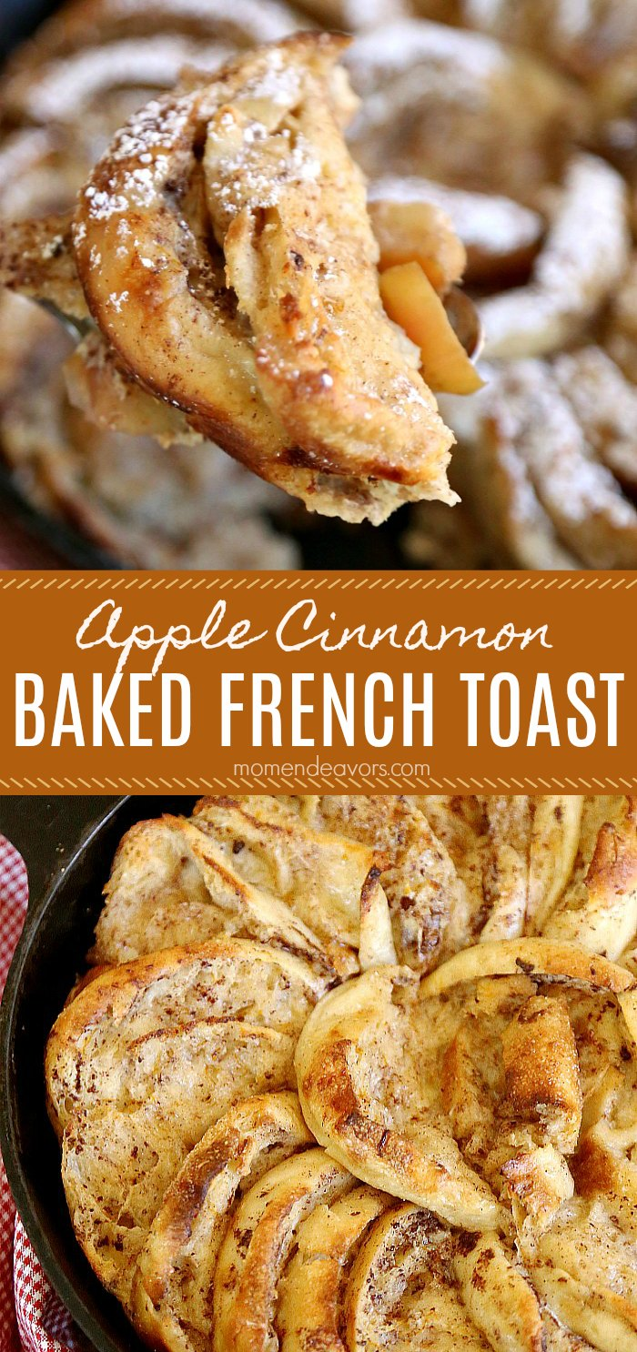 Apple Cinnamon Baked French Toast Recipe