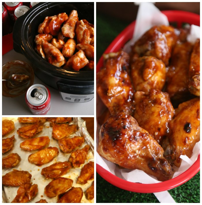 Coca-Cola BBQ Chicken Wings