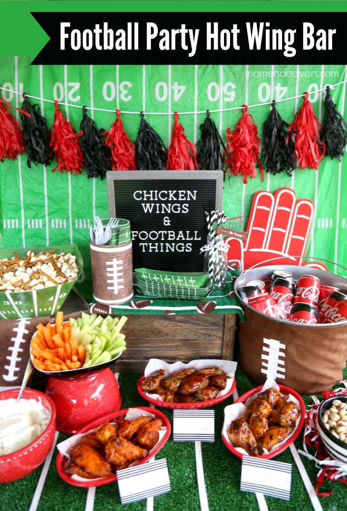 Football Party Hot Wing Bar