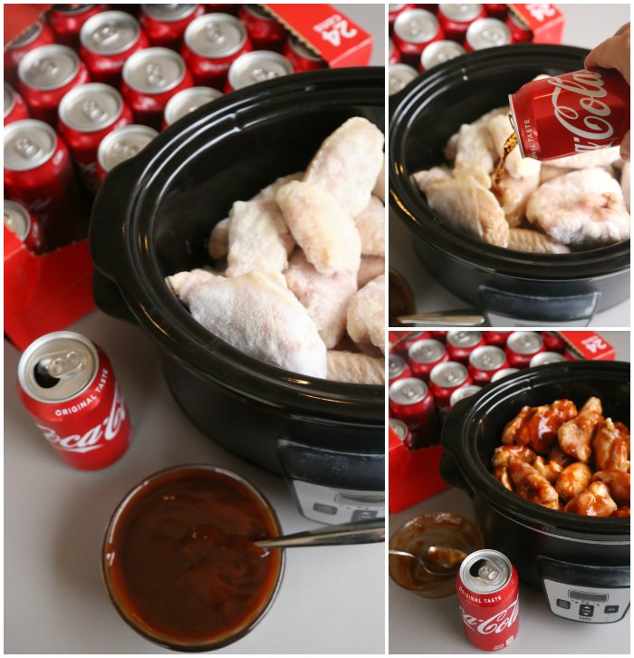 Slow Cooker Coca-Cola BBQ Wings