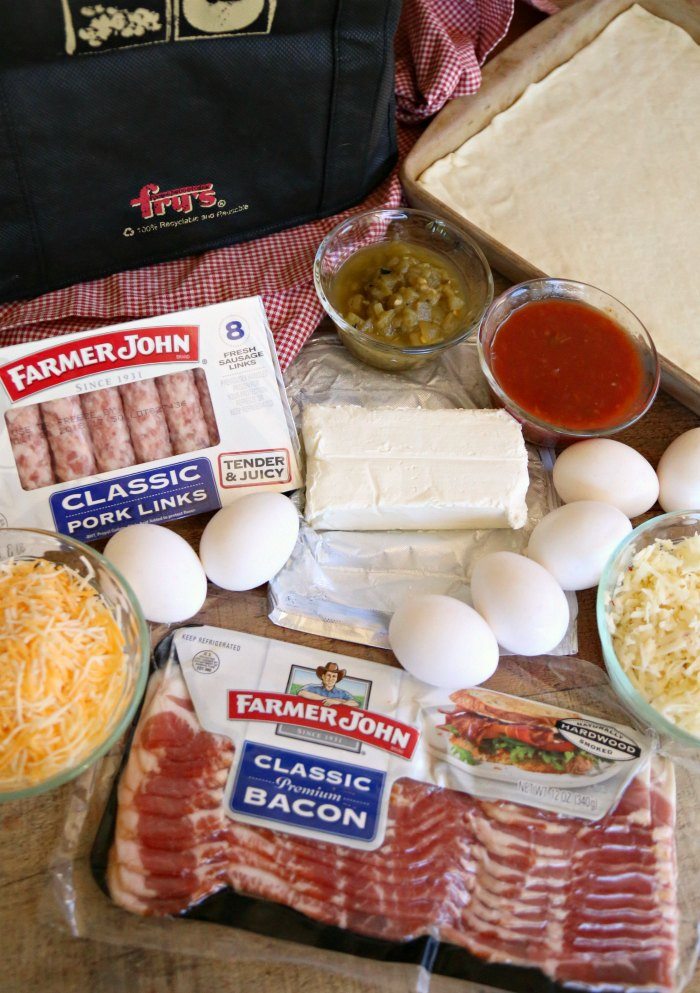 Southwest Breakfast Pizza Ingredients