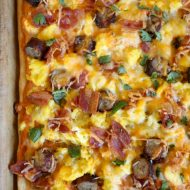 Southwestern Breakfast Pizza