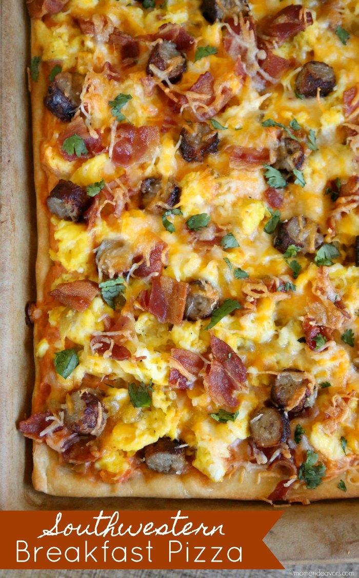 Southwestern Breakfast Pizza