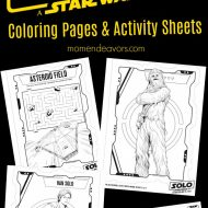 Star Wars SOLO Coloring & Activity Sheets