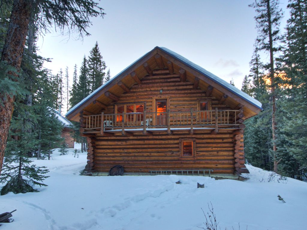 Cute winter cabin rental