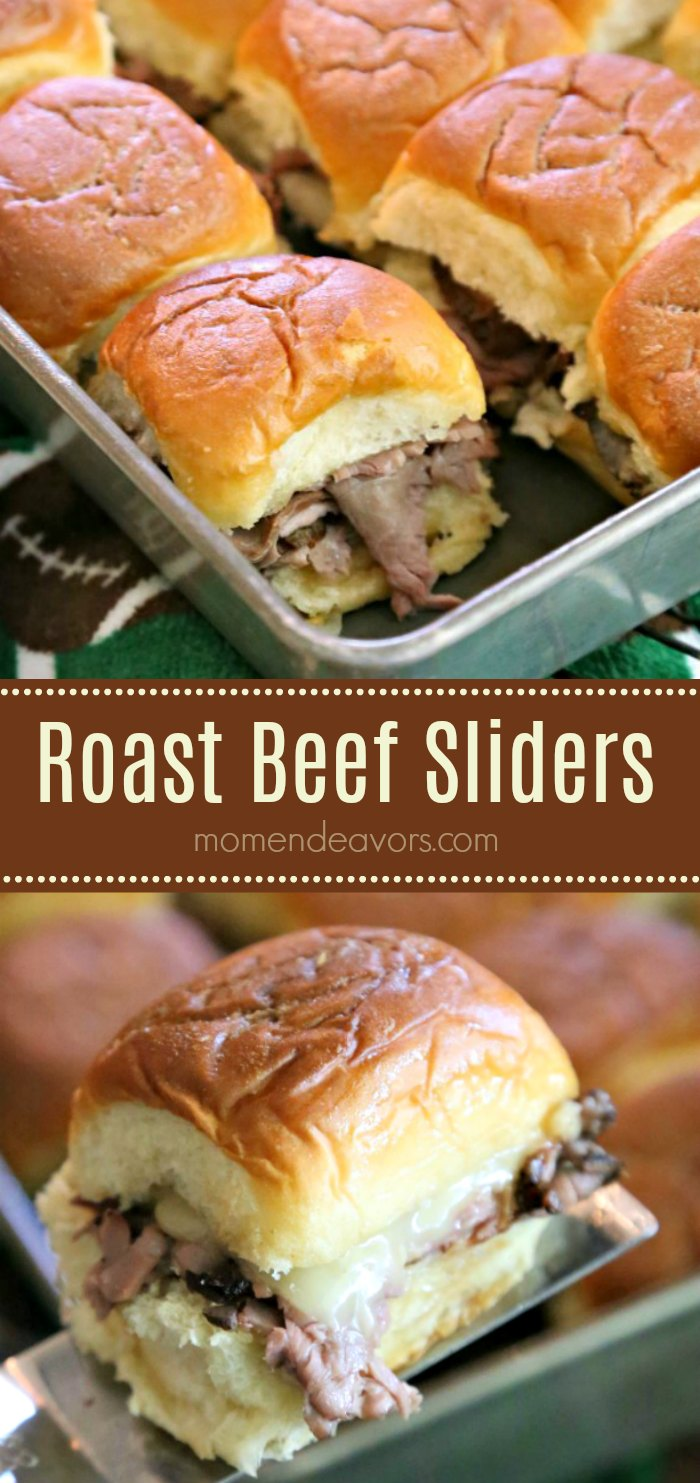 Easy Roast Beef Sliders Recipe