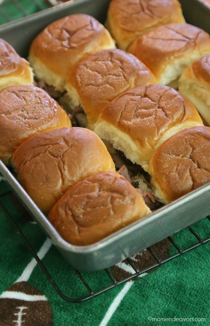 Easy Roast Beef Sliders