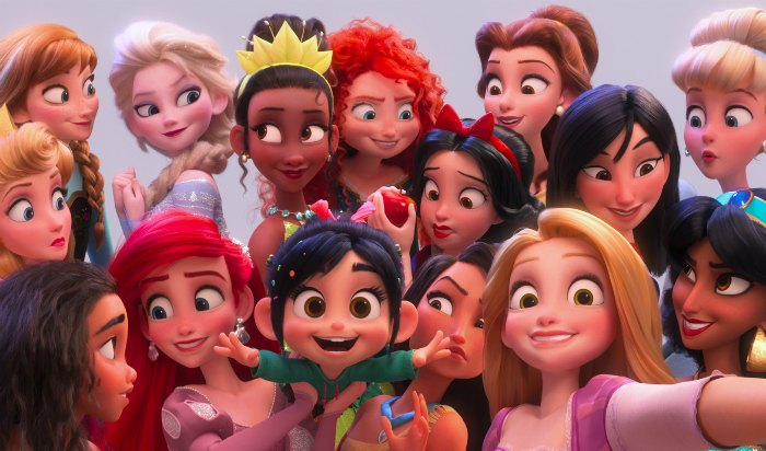 Ralph Breaks the Internet Princess Scene