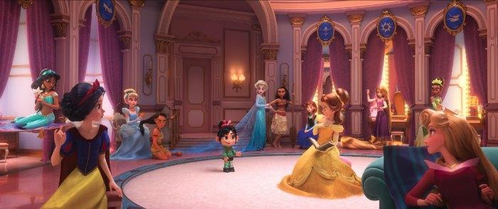 Ralph Princess Scene