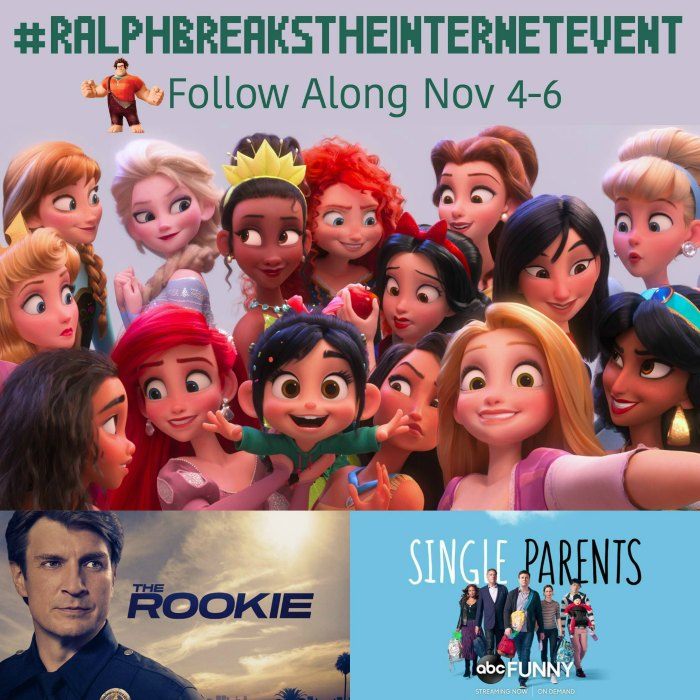 #RalphBreaksTheInternetEvent