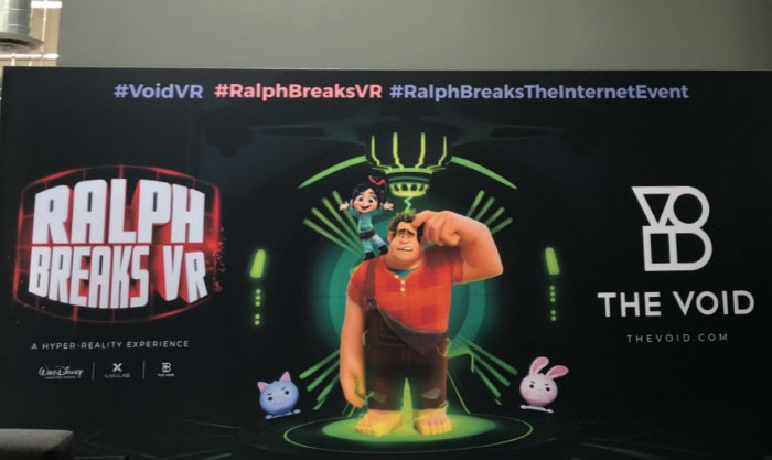The Void #RalphBreaksVR
