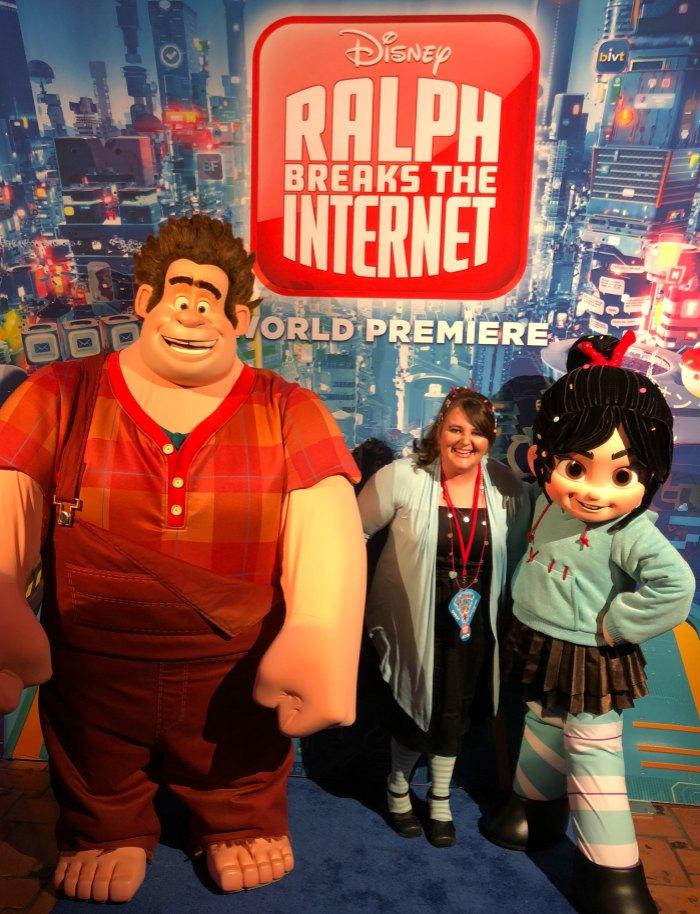 Vanellope Ralph World Premiere
